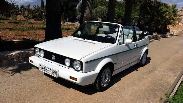 VW Golf Cabrio MK1