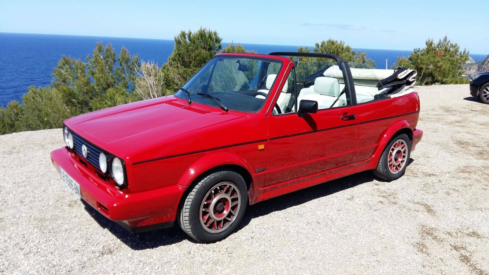 VW Golf MK1 Red