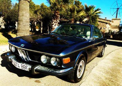 alquiler BMW 320 bodas mallorca